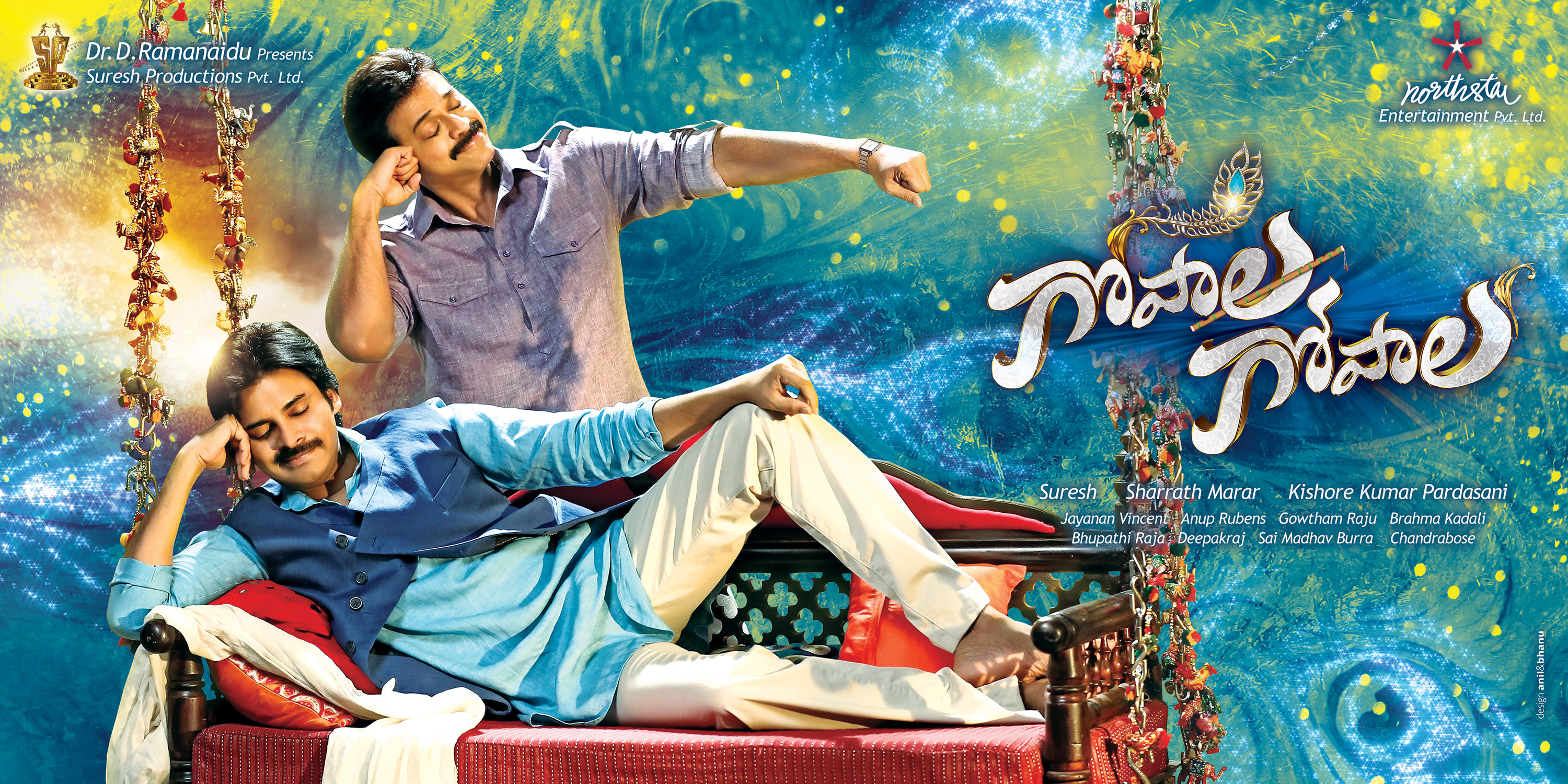 first look of gopala gopala