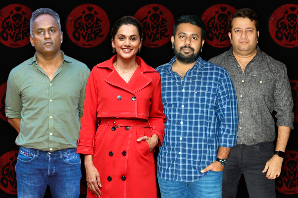 producer sashikant,Taapsee,Director Aswin Saravanan,Producer Chakravarty Ramchandra