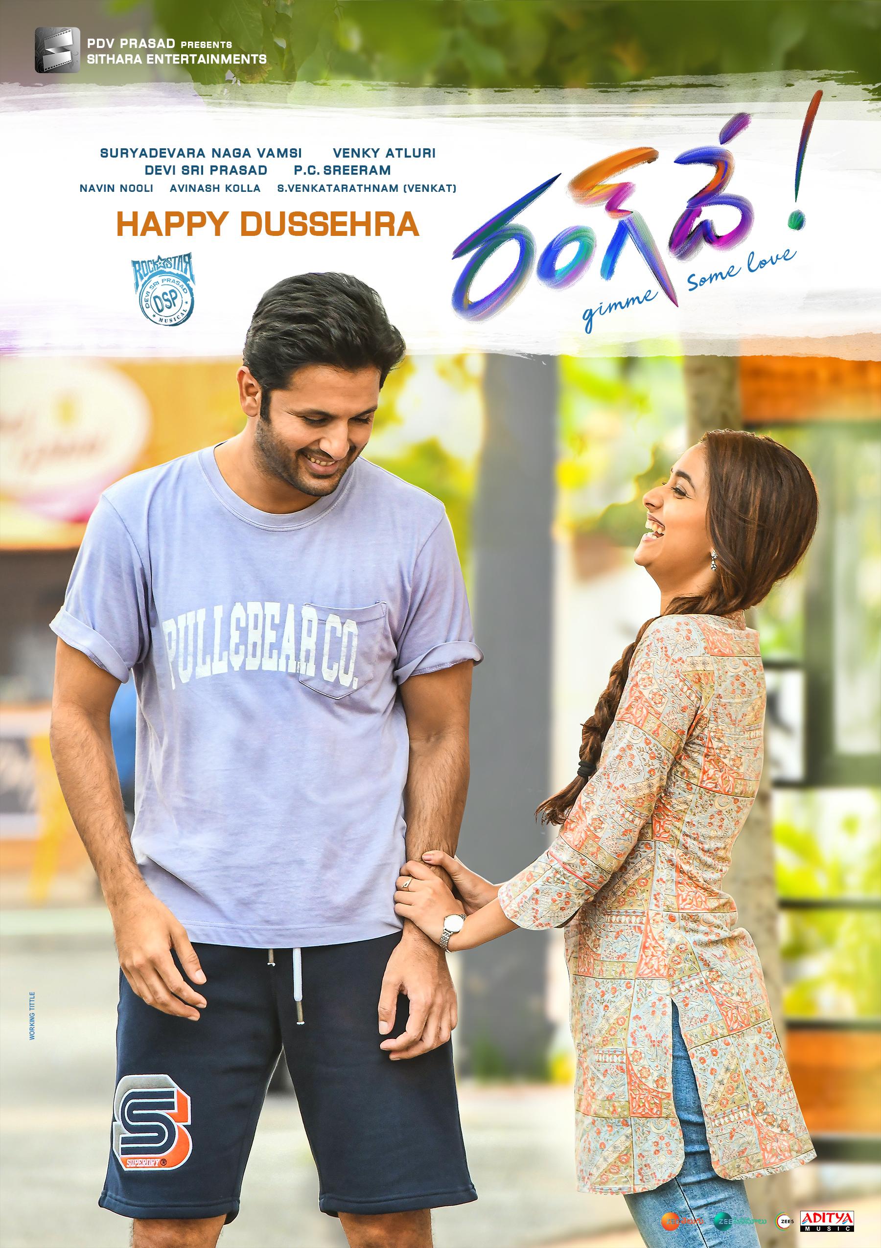 RangDe Dussehra Poster